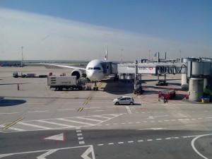 Premier avion à CGD