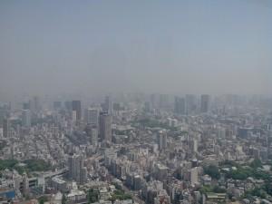 Dans la brume, Odaiba...