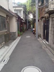 Adieu Fujimi... (entrée derrière le poteau gris)