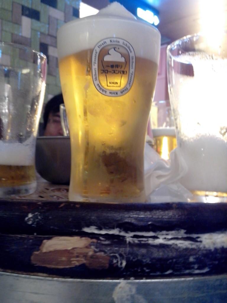 Frozen Bier