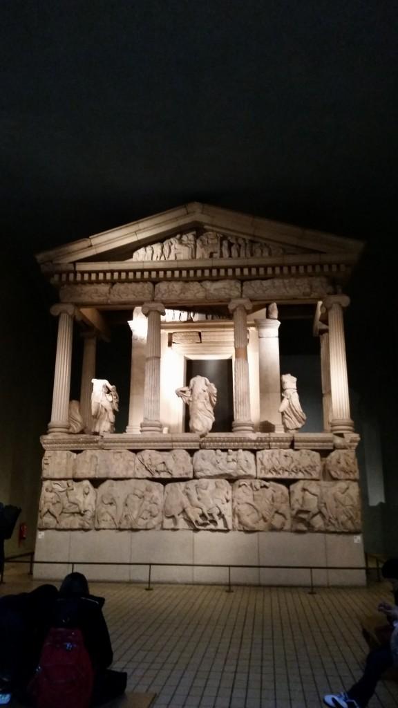 Un temple reconstitué et exposé au sein-même du musée