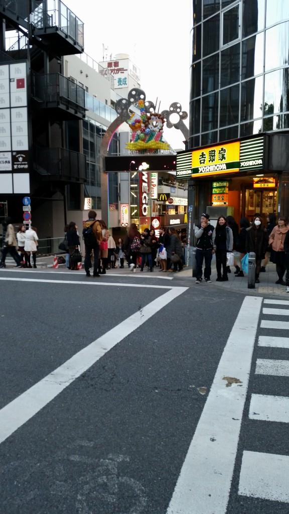 Takeshita-dōri, et la porte qui mène à l'enfer...