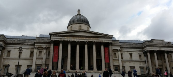 London, day one : National Gallery (10 novembre)